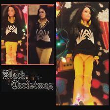 Sale! Jess Custom Horror Doll Black Christmas Ooak