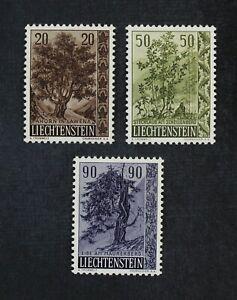 CKStamps: Liechtenstein Stamps Collection Scott#326-328 Mint NH OG