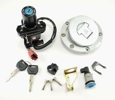 Ignition Switch Fuel Gas Cap Seat Lock Key Set For Honda CBR600RR 1000RR 2008-14