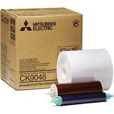 Mitsubishi 4x6 Paper (600) CK9046 For CP9500 CP9550 CP9800 Printers