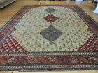 10x13, 10x14  Agra Indian Oriental Area Rug Stunning Oversize/Palace Red Blue