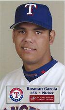 2003 Texas Rangers Dr. Pepper #11 Rosman Garcia SGA