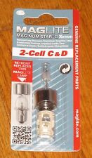 Maglite 2 Cell C & D Replacement Bulb  XENON Mag-num Star II Magnum