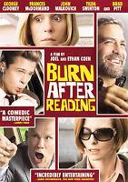 Burn After Reading DVD Ethan Coen(DIR) 2008