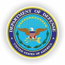 1x STICKER DEPARTMENT OF DEFENSE decal US UNITED STATES