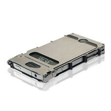 Crkt iNoxCase 360 Stainless-Brushed Stainless 360 Lid iPhone 4 & 4S Inox4Sx