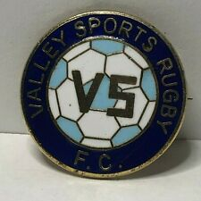 Valley sports rugby  Enamel Badge  Non League Football Clubs