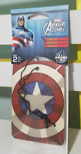 LOOTCRATE LIMITED EDITION CAPTAIN AMERICA AIR FRESHENERS SHIELD FOR YOUR CAR!