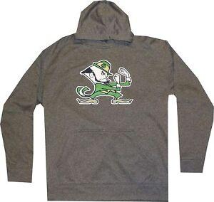 Men's Notre Dame Fighting Irish Champion Hoodie Gray Hooded Sweatshirt $50 SALE