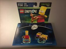 Lego Dimensions 71211 Fun Pack The Simpsons Bert Gravity Sprinter Free shipping