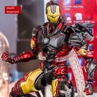 Play Arts Kai PA Avengers Iron Man Tony Stark Action Figure Toy Model China Ver.