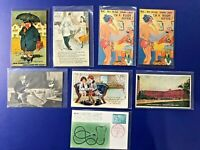 8 Medical Antique Vintage Postcards. Collector Items. Nice with Value. Unposted