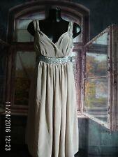 LADIES Crave @ Next BEIGE SPARKLY MATERNITY DRESS - UK10 EU38