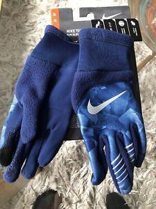Nike Women's Dri-Fit Therma Aqua Running Gloves Sz. XS NEW $25 Tech Touch