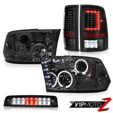 2010-2018 Dodge RAM 2500 3500 Third Brake Light Tail Lights Head Lamps SET PAIR