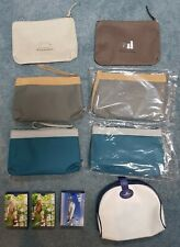 Cathay Pacific(x3), Garuda(×4) Amenity Bags; Singapore Airline Playing Cards(×3)