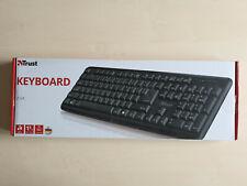 Trust Ziva Keyboard USB Tastatur Schwarz Spritzwassergeschützt