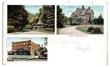 1905 West Orange, NJ Multiview Postcard *5Q(2)14