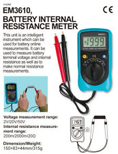 Battery Internal Resistance Meter Lithium Digital BatteryTerminal Voltage Tester