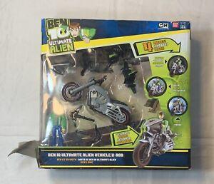 Ben 10 ultimate Alien vehicle V-Rod Action Figure Bandai MIB