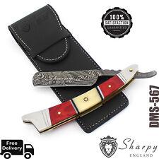 BlackSmith, Handmade Wet Shave / Barber Damascus Steel Cut Throat Razor