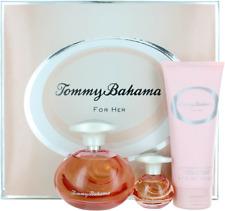Tommy Bahama For Her Set: EDP spray 3.4 + EDP spray 0.5 + BL 6.7 New