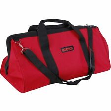 "24"" HEAVY DUTY TOOL BAG WATER RESISTANT MULTI PURPOSE BOX BUILDERS STORAGE NEW"