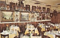 WASHINGTON DC OLD EUROPE RESTAURANT~RATHSKELLER~2434 WISCONSIN AV POSTCARD 1960
