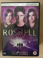 Roswell Saison 3 DVD Coffret Nous TV Sci-Fi Série avec Katherine Heigl