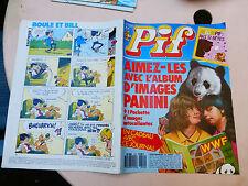 pif gadget sans gadget n°929 année 1987