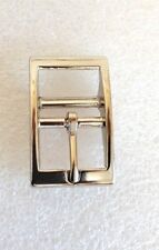 Cavesson Buckle Nickel Nickle 25mm fits 25mm wide strap =0