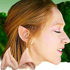 Fairy Pixie Elf Ears Cosplay Halloween Costume Latex Pointed Prosthetic Ear NEW