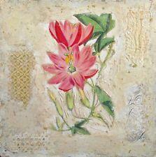 Starlie Sokol Hohne Untitled Floral Mixed Media Artwork Original, Make Offer!