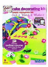 PME Cake Decoration Decorating Icing Simply Sugarpaste Sugarcraft Course Kit