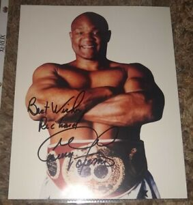 George Foreman Autograph Auto Signed 8x10 Picture Photo Boxing Legend