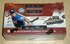 2001 01 Playoff Absolute factory sealed baseball hobby box autograph ball