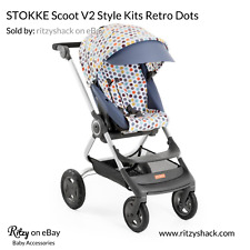 STOKKE Scoot V2 Style Kits Retro Dots Stroller Cover and Tote Polka Dots