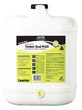 Lanotec Timber Seal Plus Lanolin Protectant 20L Roughsawn Sealant Safe