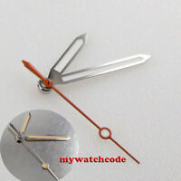 super luminous silver edge white watch Hands fit Japan NH35 NH36 movement