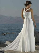 Unbranded Chiffon Strapless Wedding Dresses