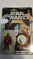 "4"" Star Wars SNAGGLETOOTH Figure Kenner GMFGI 1978 Hong Kong w/ Card Backing"