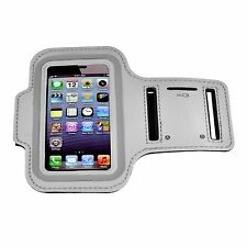 SILVER Armband Case for Jogging Running Apple iPhone 4 4S 4G Holder Cover Strap