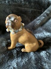 More details for victorian conta & boehme german pottery pug dog c1880