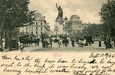 Carte PARIS Place de la République