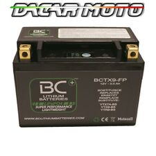 BATTERIA MOTO LITIO BMW	S 1000 R ABS	2013 2014 2015 2016 2017 BCTX9-FP