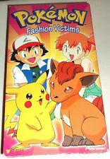 Pokemon Vol. 9: Fashion Victims (VHS, Dubbed, 1999)