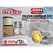 FILTER SERVICE KIT AIR OIL FUEL / TOYOTA HILUX KZN165R 1KZTE 1999-2005 - FSK012