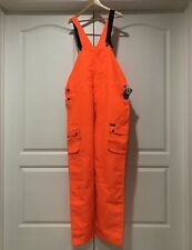 Mens Remington Neon Orange Hunting Overalls Size 2XL NEW With Tags