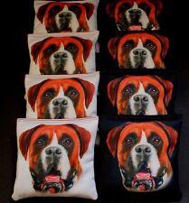SWISS MOUNTAIN FARM DOG ST. BERNARD 8 ACA regulation custom Cornhole bags B160