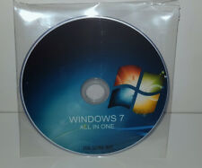 DVD - WINDOWS 7 ALL IN ONE (AIO) ITALIANO [PROFESSIONAL ULTIMATE ECC] 32/64 BIT